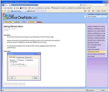 자신의 노트필기장을 웹으로 - OneNote Web Exporter
